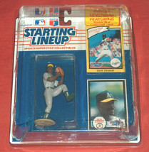 1990 Edition Starting Lineup Dave Stewart Oakland A's Athletics In Displ... - $44.53