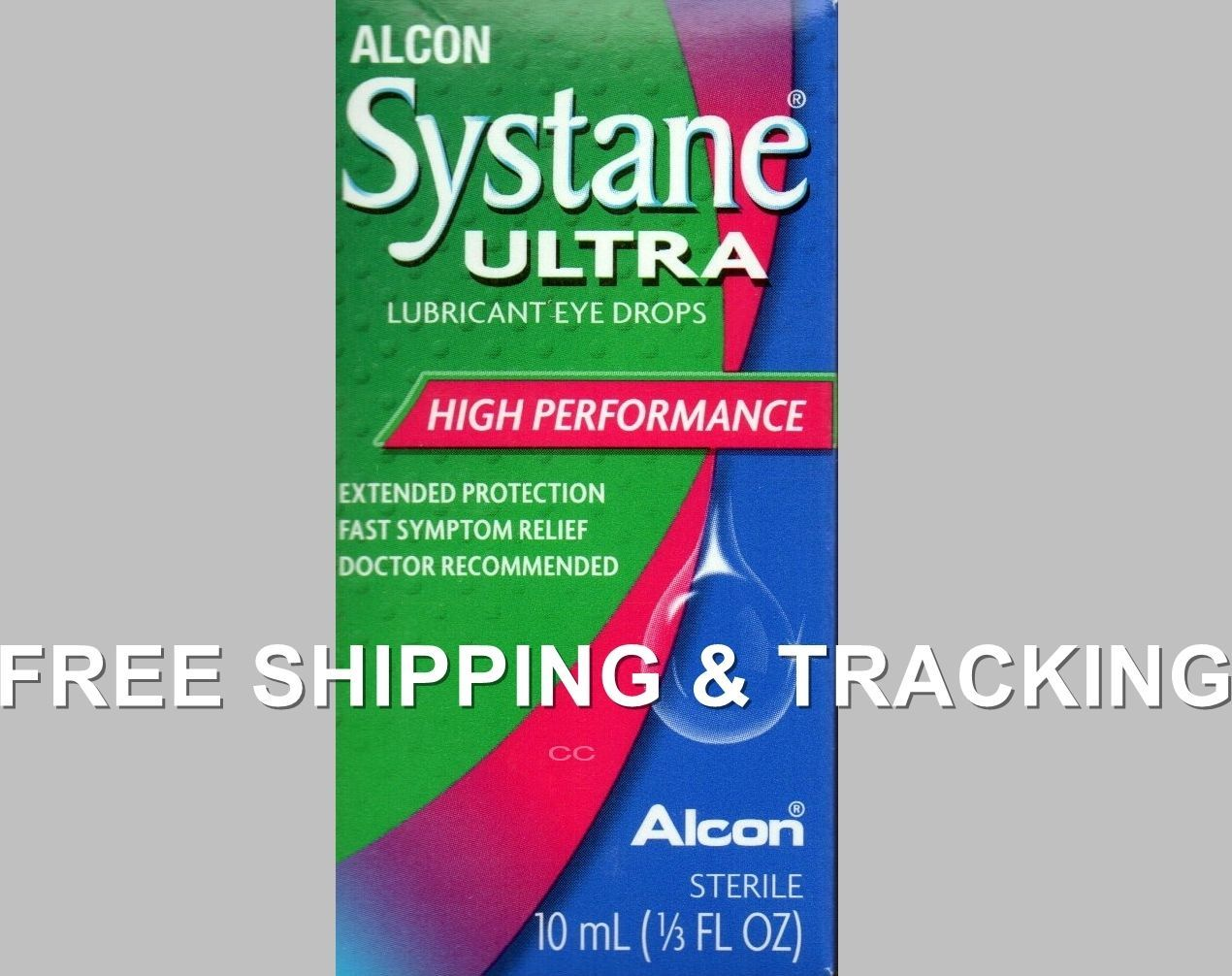 Alcon Systane Eye Drops Lubricant Ultra 10 ml Exp. 2019