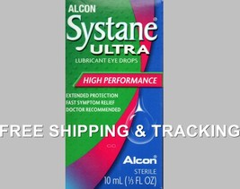 Alcon Systane Eye Drops Lubricant Ultra 10 ml Exp. 2019 - $11.50