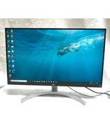 "LG - 27UL600-W 27"" IPS LED 4K UHD FreeSync Monitor with HDR - White LOCA... - $347.34"