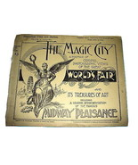 1893 Chicago Worlds Fair MAGIC CITY Photo Portfolio #13 Original  - $24.98