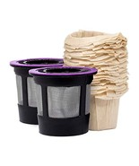 iPartsPlusMore Reusable K-Cup Filter Pods with Compatible Natural Paper ... - ₹903.71 INR