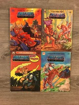 Vintage 1984 Masters of the Universe He-man UNUSED Golden 4 Coloring Book Lot - $99.00