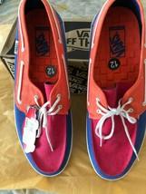 Vans Chauffeur Tri Tone Surf Siders Ocean Spray Low Top Shoes Men's 12 N... - $29.69