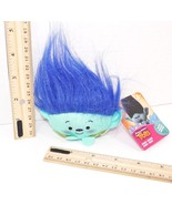 "DREAMWORKS TROLLS BRANCH - 2.5"" PLUSH TOY HEAD FIGURE MINI BEAN BAG NEW ... - $4.88"