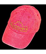 Blackhawk Automotive Auto Museum Distressed Wash Red Adjustable Baseball... - $25.49