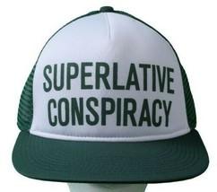 WeSC Superlative Conspiracy Camionneur Casquette Baseball Chapeau