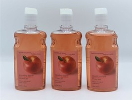Bath & Body Works Country Apple Shower Gel Body Wash Lot of 3 - $27.99