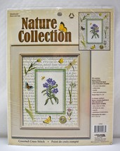 Leisure Arts Nature Collection Wildflower Counted Cross Stitch Kit w/Mat #115563 - $9.45