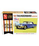 Skill 2 Model Kit 1960 Ford Thunderbird Hardtop Scale Stars 1/32 Scale M... - $44.54