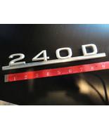 """1983 Mercedes Benz """"240D"""" Trunk Rear Emblem Original Used OEM Part #559B - $19.75"""