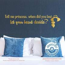 Tell me princess, when did you last let your - Aladdin Disney Quote Viny... - $7.00+