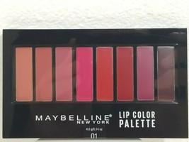 Maybelline New York Lip Studio Lip 01 Color Palette , 8 Different shades - $7.10
