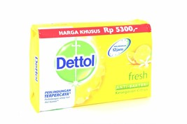 Dettol Fresh Anti-Bacterial Bar Soap, 105g - $2.50
