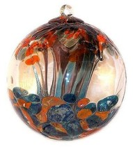 "6"" European Art Glass Gustav Klimt ""TREE OF LIFE"" Inspired Witch Ball Kugel - $41.23"
