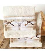 Set of 2 Born to Hunt Hand Towels - $21.97