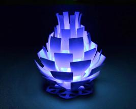 Artichoke Blossom - 3D Printed Accent Lamp - $34.00+