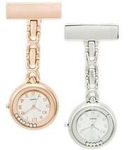 SEWOR Unisex Floating Diamond Hanging Pocket Watch 2pcs with Brand Leath... - $20.22
