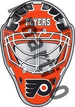 Philadelphia Flyers Front Goalie Mask Vinyl Decal / Sticker 5 Sizes!!! - $3.99+