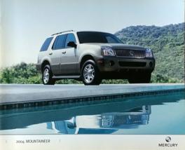 2004 Mercury MOUNTAINEER sales brochure catalog 2nd Edition US 04 Premier - $8.00