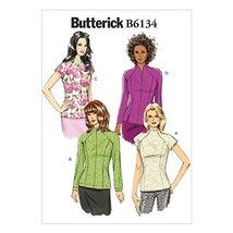 Butterick Patterns B6134 Misses' Top Sewing Template, Size A5 (6-8-10-12-14) - $14.70