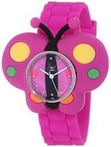 "Frenzy Kids' FR2004 ""Butterfly Critter Face"" Purple Band Children's Watch - $16.31"