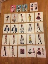 DISNEY 102 DALMATIANS Fashion Show Postcard BETSEY JOHNSON JOE BOXER Pre... - $27.12