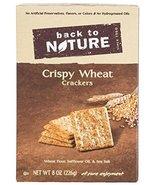 Back to Nature Crackers - Crispy Wheat - 8 oz - 3 pk - $537,87 MXN