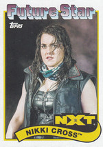 Nikki Cross 2018 Topps Heritage WWE Future Stars Card #105 - $0.99