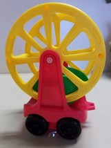 FISHER PRICE FERRIS WHEEL RED YELLOW - $11.30