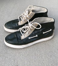 Polo Ralph Lauren Men Sneakers Ankle High Top Shoes Green 12D Lander Chukka - $34.64