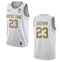 Men's Notre Dame Fighting Irish #23 Dane Goodwin NCAA College Basketball... - $59.99