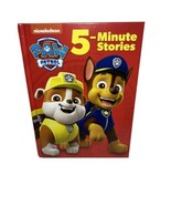 PAW Patrol 5-Minute Stories Hardcover Book Collection Nickelodeon New Ra... - $11.09