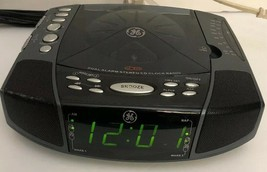 General Electric Dual Alarm Clock Stereo w/CD player & AM/FM radio GE 7-... - $67.39