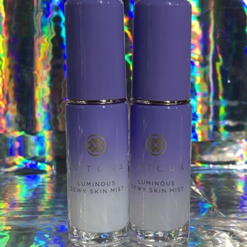 2x Tatcha Luminous Dewy Skin Mist 12mL (24mL Total)