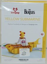 Lovepop LP1553 The Beatles Yellow Submarine Pop Up Card and Envelope Pkg 1 image 7