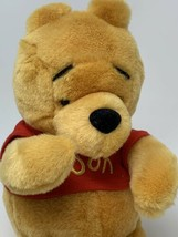 "Disney Store Parks Winnie the Pooh Bear Plush Soft Teddy 10"" Stuffed Animal - $10.88"