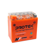 YTX14-BS 12V Gel Battery for 06-17 Kawasaki Concours 14 ZG1400 Ninja ZX1... - $52.95