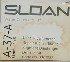 Sloan Urinal Flushometer Repair Kit Traditional Segment Diaphragm Drop In Kit image 1