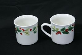 Target Home Xmas Charm Holly Berry Cups Lot of 12 image 3