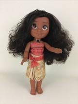 "Disney Singing Talking Moana Doll 13"" Light Up Necklace 2016 Toy Jakks P... - $29.65"