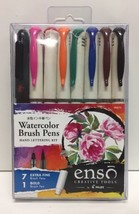 (New) Pilot Enso Watercolor Brush Pen Set, 7 extra fine/1 bold - $27.22