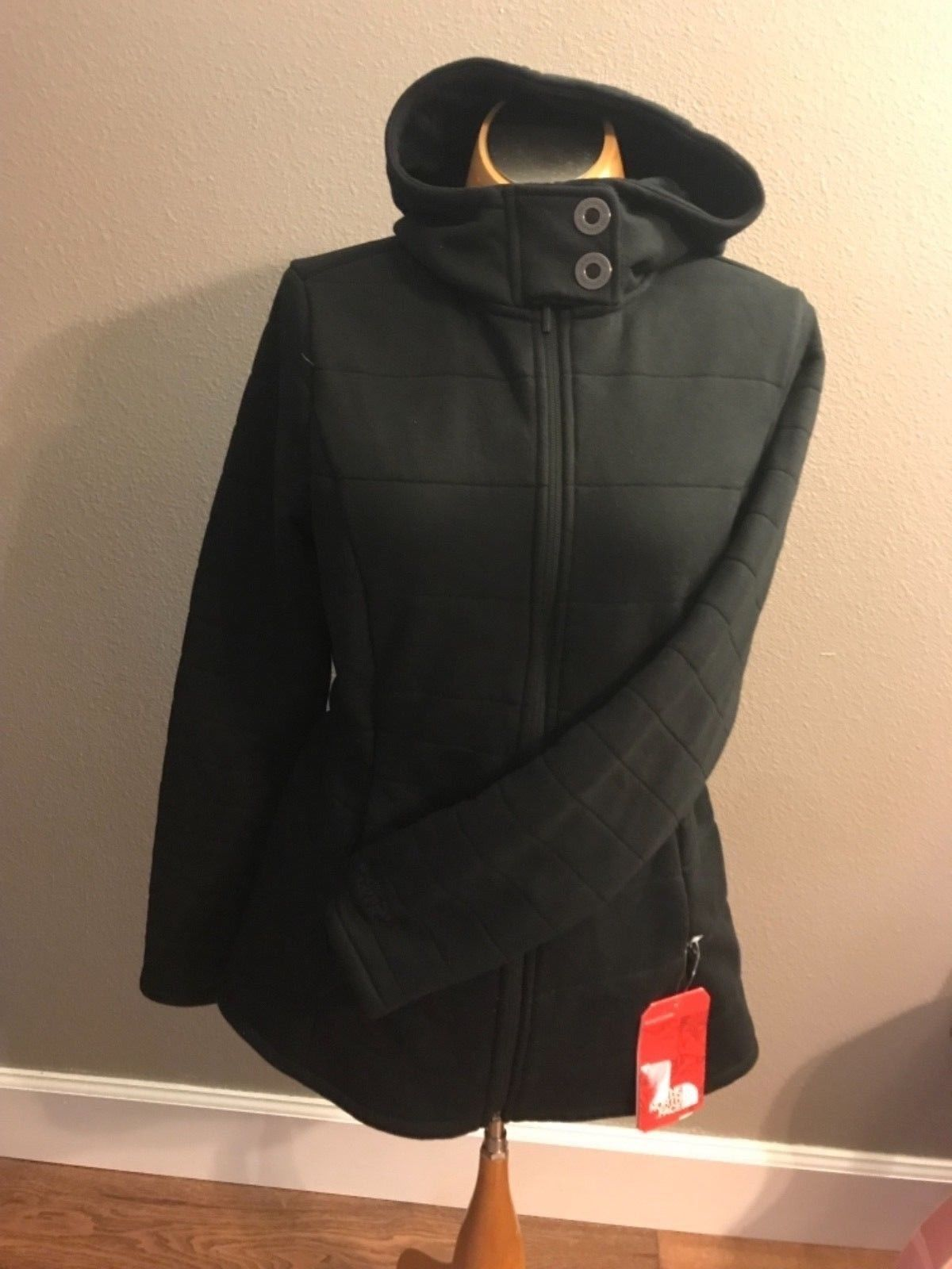 The North Face hooded Ladies Jacket size M
