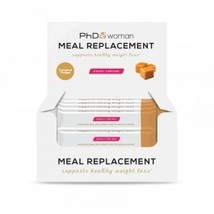PhD - Woman - Meal Replacement - Caramle Crunch - 12 Bars - $37.90
