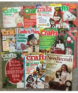 Lot 11 partial vintage Christmas Crafts'n things, McCall's Needlecraft -... - $8.53