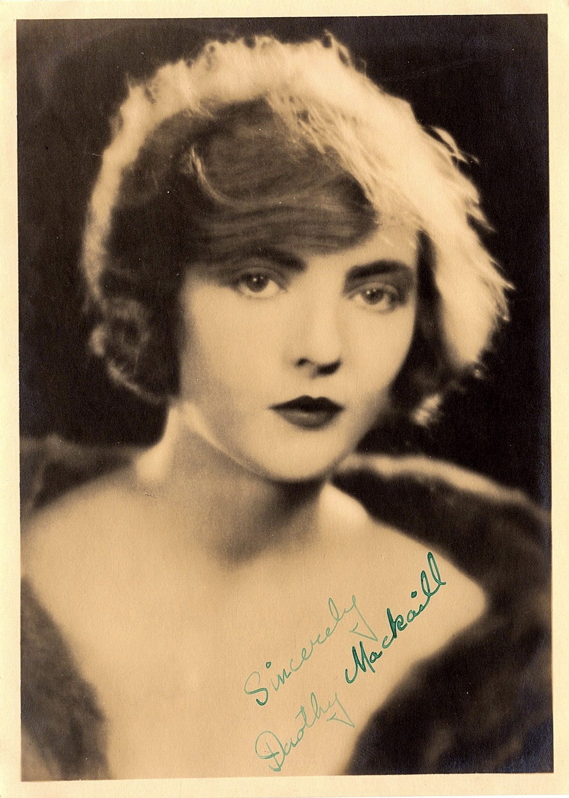 Primary image for DOROTHY MACKAILL autographed HAND SIGNED Vintage 5x7 Photo 1920's Silent Films