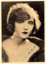 DOROTHY MACKAILL autographed HAND SIGNED Vintage 5x7 Photo 1920's Silent... - $125.00