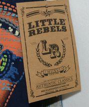 Little Rebels SK8 Club Polo Shirt Short Set Blue Plaid Size 12 Months image 4