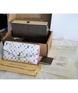 Louis Vuitton Multicolor Sarah Monogram Wallet Made In France Collectors... - $3,460.05