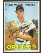JIM PALMER Card RP #475 Orioles 1967 T Free Shipping - $2.99